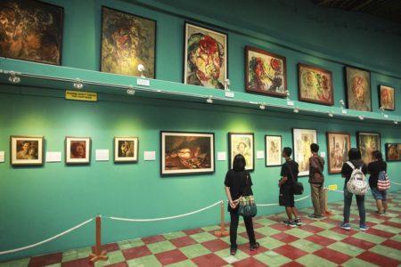 Nikmati Karya Legenda Sang Pelukis di Museum Affandi