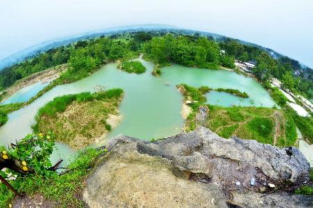 Telaga Biru Semin Gunung Kidul Jogja